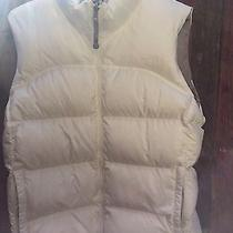 White North Face Nuptse 700 Down Fill Vest Womens Size Large Like New Photo