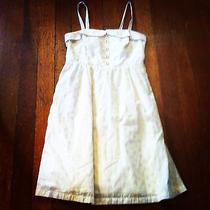 White Patterened Dress Photo