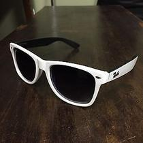 White Ray Ban Sunglasses Photo