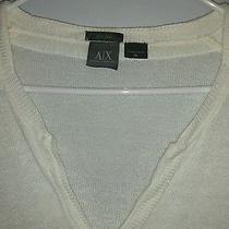 White Sweater  Armani Exchange Man Size Xl. Photo