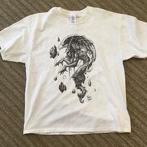 White T Shirt Artist David Bolt Fantasy X Large Photo