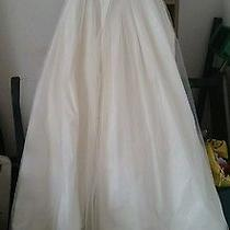 White Vera Wang Wedding Dress Size 2 Long Full Beautiful Photo