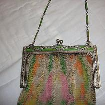 Whiting and Davis Antique Purse Marquisette  Photo