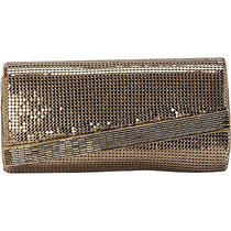 Whiting and Davis Beaded Edge Clutch - Antique Gold Clutche New Photo
