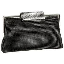 Whiting  and  Davis Bubble Mesh and Crystal Clutch I537p3lw3r8 Photo