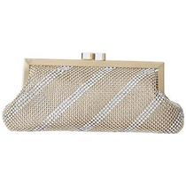 Whiting and Davis Dimple Mesh Clutch I5grqlolpny Photo
