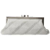Whiting and Davis Dimple Mesh Clutch Ifs000175904 Photo