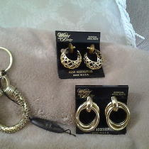 Whiting and Davis Earrings  and Key Chain Photo
