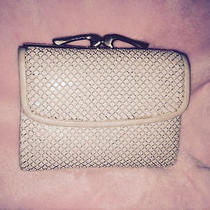 Whiting and Davis Framed Purse Ivory Mesh Ladies Wallet Photo