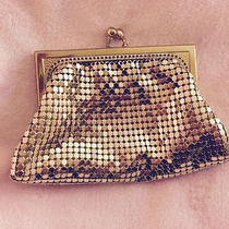 Whiting and Davis Gold Mesh Coin Purse / Coin Wallet Photo