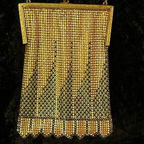 Whiting and Davis Mesh Bag Art Deco 1920s Photo