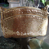 Whiting and Davis Metalic Gold Handbag  Photo