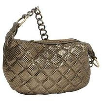 Whiting and Davis Quilted Mesh Hobo - Antique Gold Photo