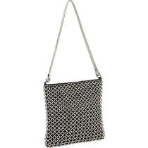 Whiting and Davis Ring Mesh 3 Colors Faux Leather Bag New Photo