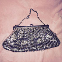 Whiting and Davis Silver Mesh Purse With Mirror Photo