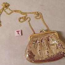 Whiting and Davis Small Gold Mesh Shoulder Bag Strap Approx 23