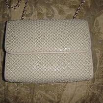 Whiting and Davis Vintage  Off White Mesh Purse Handbag Photo