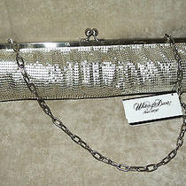 Whiting and Davis Zig Clutch  Clutche New Silver 12