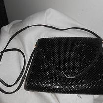 Whiting & David  Metal Metal Black Great Dressy Size Purse Handbag  Photo
