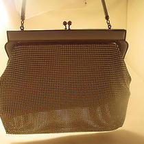 Whiting & Davis   Antique Mesh Art Deco Mesh Handbag White Photo