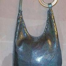 Whiting & Davis Baby Bluehobohandbag With Lucite ring325.00 Lk Photo
