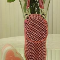 Whiting & Davis Beaded Hot Pink Cell Phone Holder /   Retails for 169.00 Photo