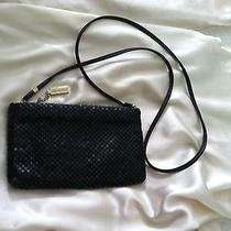 Whiting & Davis Black Mesh Cocktail Shoulder Bag Photo