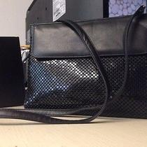Whiting & Davis Black Metal Mesh-Evening Handbag High End Vintage From the 50's Photo