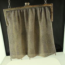 Whiting & Davis Co Mesh Bag Sterling Silver Silver-Coloured (Tr14) Photo