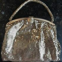 Whiting & Davis Co. Vintage Gold Mesh Purse After Schiaparelli Photo