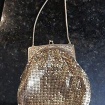 Whiting & Davis Co. Vintage Gold Small Mesh Purse Photo