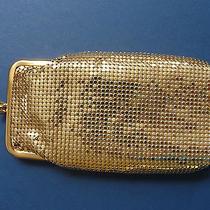 Whiting & Davis Gold Metal Mesh - Vintage Eyeglass Case Holds 2 Pair of Glasses Photo