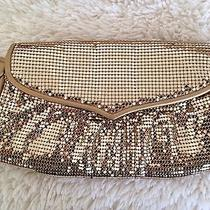 Whiting & Davis Gold Sequin Clutch Photo