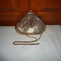 Whiting & Davis Gold Tone Mesh Evening Bag/purse. 20