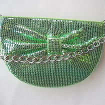 Whiting & Davis Green Mesh Evening Bag New Without Tags Photo
