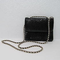 Whiting & Davis International Purse Shoulder Bag Metallic Chain Link Shoulder Photo