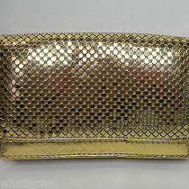Whiting & Davis Keychain Wallet Gold Mesh Id Credit Cards Etc Photo