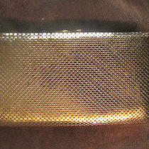 Whiting & Davis Lovely Gold Mesh Wallet With Compartmentsexcellent Condition Photo