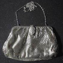 Whiting & Davis Luxury High End Womens Hand Bag Purse With Lipstick Case L9 Photo