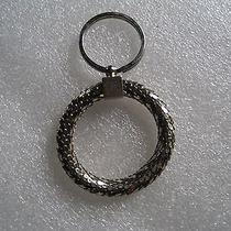 Whiting & Davis Mesh Key Ring - Goldtone Photo