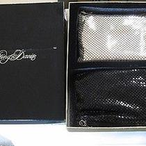 Whiting & Davis New Boxed Set of 2 Mini Evening Bag S W/ Mirrors & Chains Photo