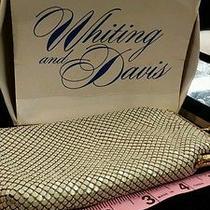 Whiting & Davis Off-White Vintage Glass/phone/cigarette Photo