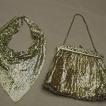 Whiting & Davis Silver Necklace and Evening Bag Photo