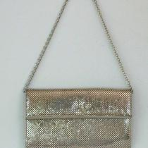Whiting & Davis Silver Pocketbook Purse Photo
