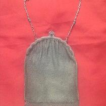 Whiting & Davis Sterling Silver Deco Mesh Purse Photo