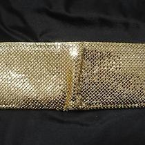 Whiting & Davis Vintage Gold Mesh Wallet                     Euc Photo