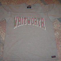 Whitworth College Football Gray T-Shirt Size Mens Medium Jansport  Photo
