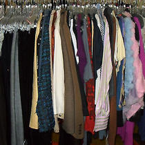 Wholesale Lot 50pc Womens Designer Clothing Resale Brand Name Chicos Armani  Photo