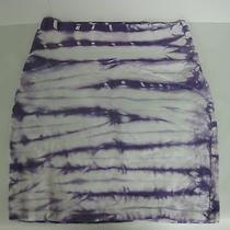 Wholesale Lot of Charlotte Russe Purple Tie Die Skirts Small Medium Large  Photo