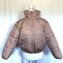 Wild Fable Women's  Cropped Retro Puffer Jacket  Blush Pink Xs Nwt Photo